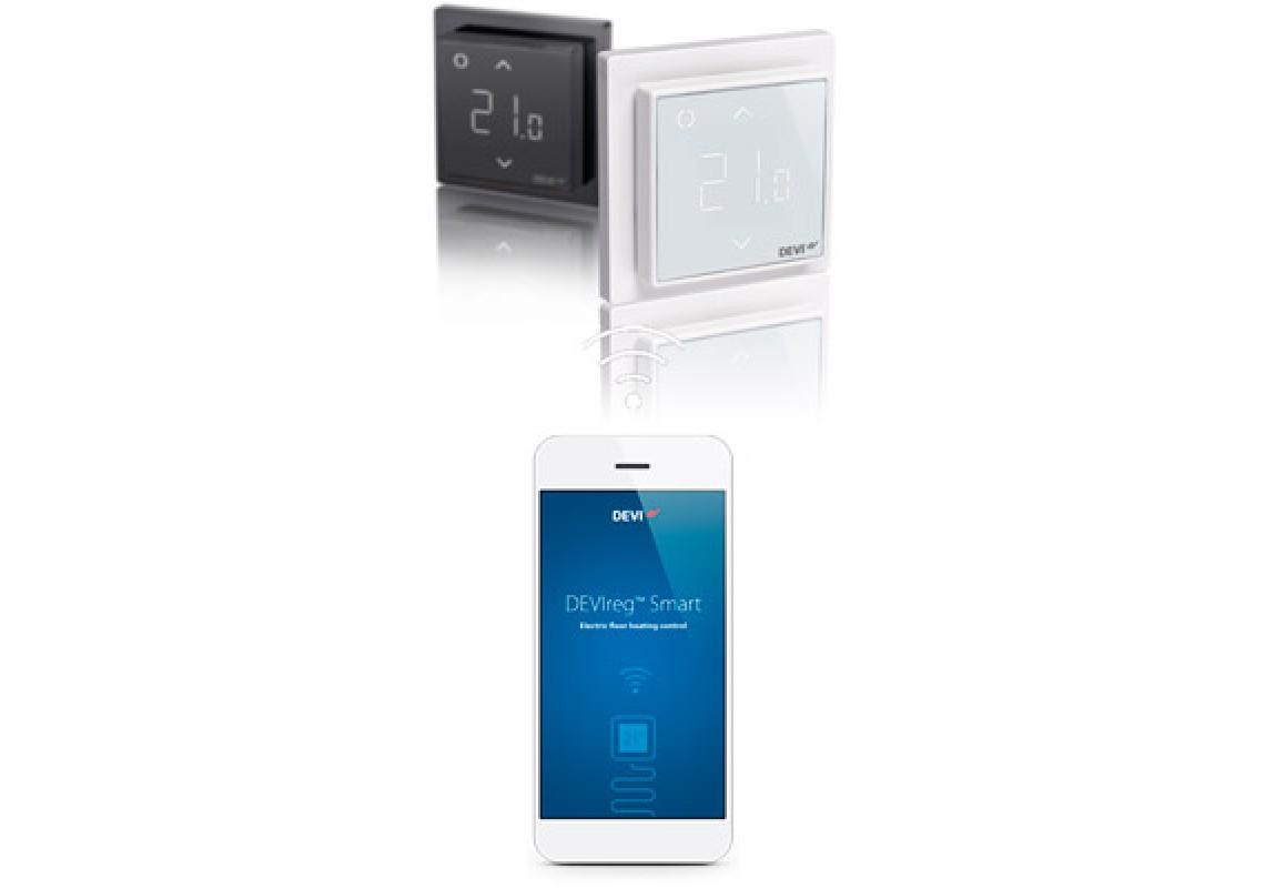 Tерморегулятору DEVIreg™ Smart c Wi-Fi
