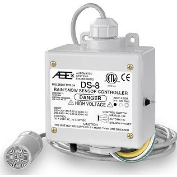 Терморегулятор для кровли Devi DS-8C с датчиками влажности и температуры, 30А (088L3045)