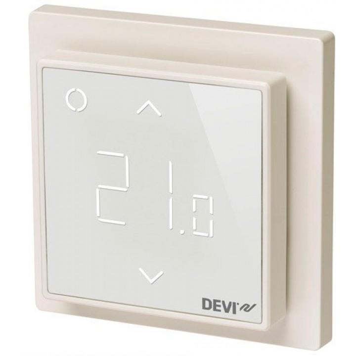 Терморегулятор DEVIreg™ Smart с Wi-Fi интеллектуальный 16А (белый) 140F1141