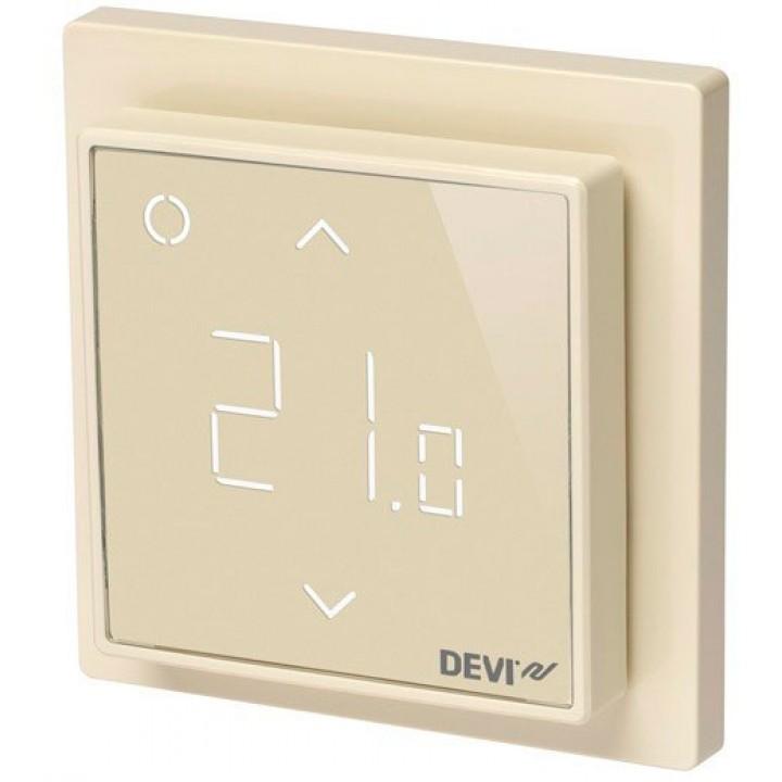 Терморегулятор DEVIreg™ Smart с Wi-Fi интеллектуальный 16А (бежевый) 140F1142
