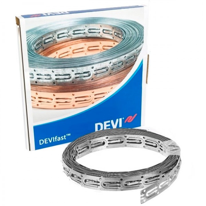 Оцинкованная лента Devifast для креп. кабеля (10 метров) 19808181