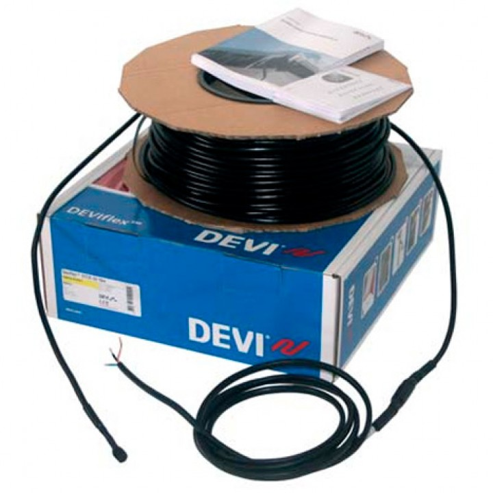 Нагревательный кабель двухжильный DEVIsnow™ 30Т (DTCE-30), 50 м, 1440 Вт, 230 В (89846014)