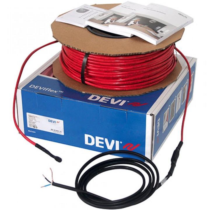 Нагревательный кабель DEVIflex™ 10T, 1876 Вт, 210 м, (до 29,8 м²) 140F1234