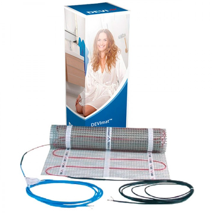 Электрический Теплый пол DEVIheat™ 150S (DSVF-150), 750 Вт (на 5 м²) 140F0336